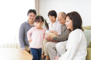 Three-generation family enjoying a warm home in Orange, TX