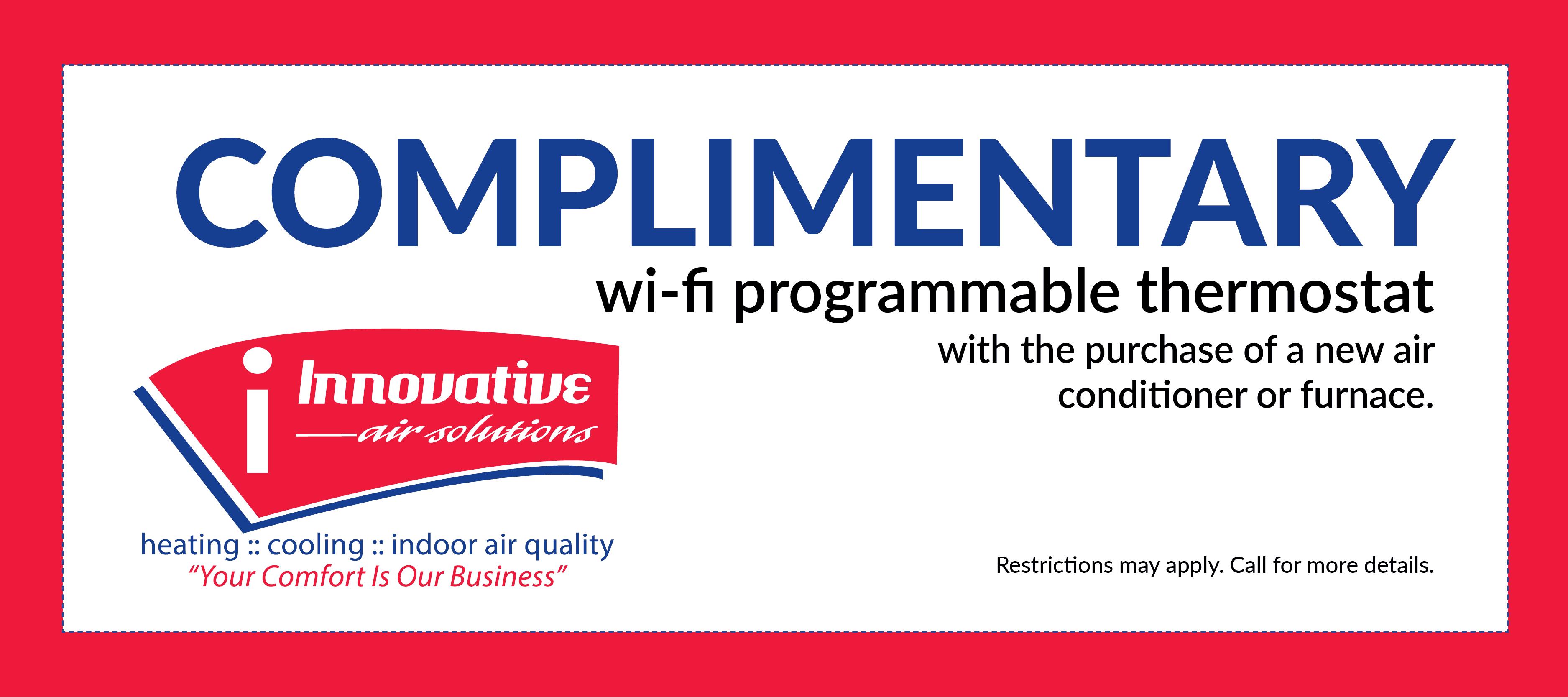 IAS thermostat coupon