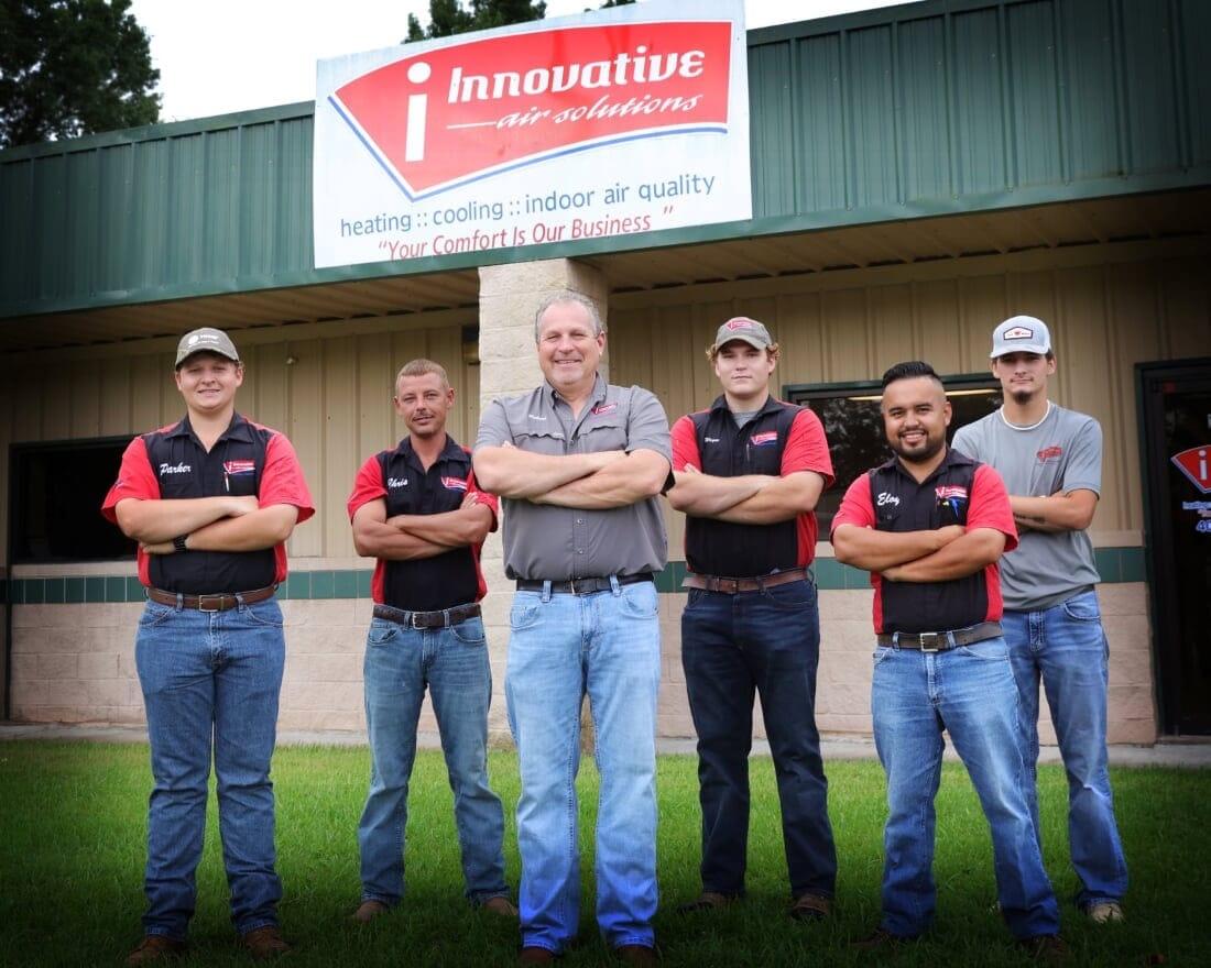 Men of Innovative Air Solutions